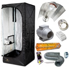 Kit Dark Room II V2.5 (120x120x200) Cooltube con Reflector Eti Block 600W